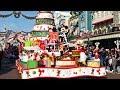 Disney's Christmas Parade 2019 at Disneyland Paris with Goofy, Mickey, Minnie, Donald, Duffy & More!
