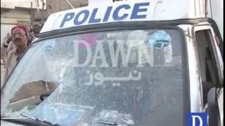 Four killed in attack on police van in Karachi's Korangi area