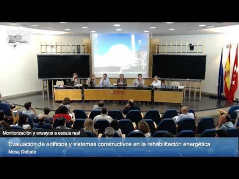 Mesa Debate 1. Monitorización y ensayos a escala real