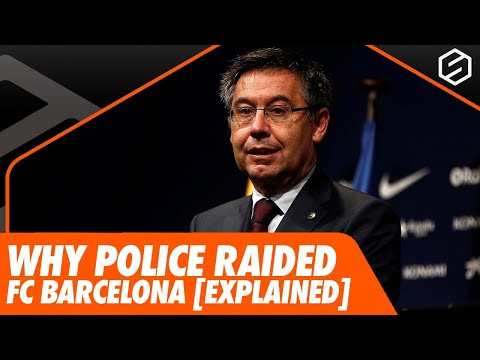 Why Police raided Barcelona [EXPLAINED] + Barcelona's presidential elections
