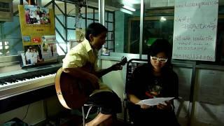 tình yêu Hà Nội - guitar - lop nhac ha trang