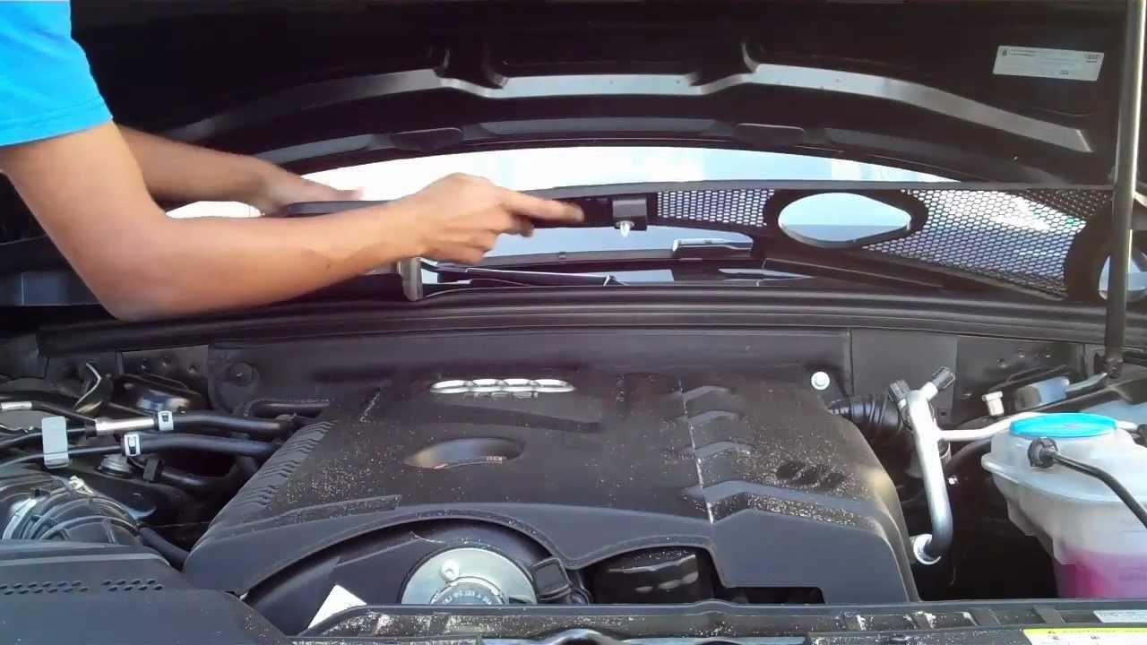 Audi All Road Fuse Diagram Wires Through The Firewall 2012 Audi A4 B8 Diy Youtube