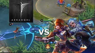 DOGIE AND YASUE vs ARKANGEL OWNAGE - HARITH - 2000 DIAMONDS GIVEAWAY - MOBILE LEGENDS - RANK