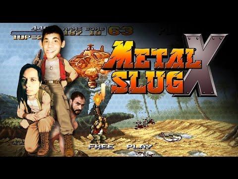 Metal Slug X PT#02 [FINAL] - Muita informação pra pouca visão, bagulho tava doido