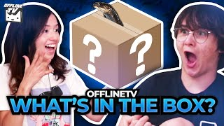 OFFLINETV WHATS IN THE BOX CHALLENGE ft. Michael Reeves Pokimane LilyPichu Scarra