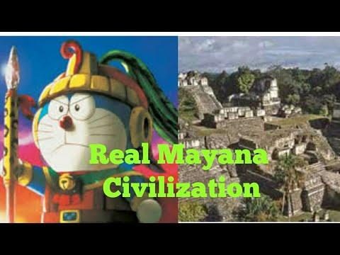 The Real Truth Of Ancient Mayan Civilization || Doraemon Mayana Civilization ||