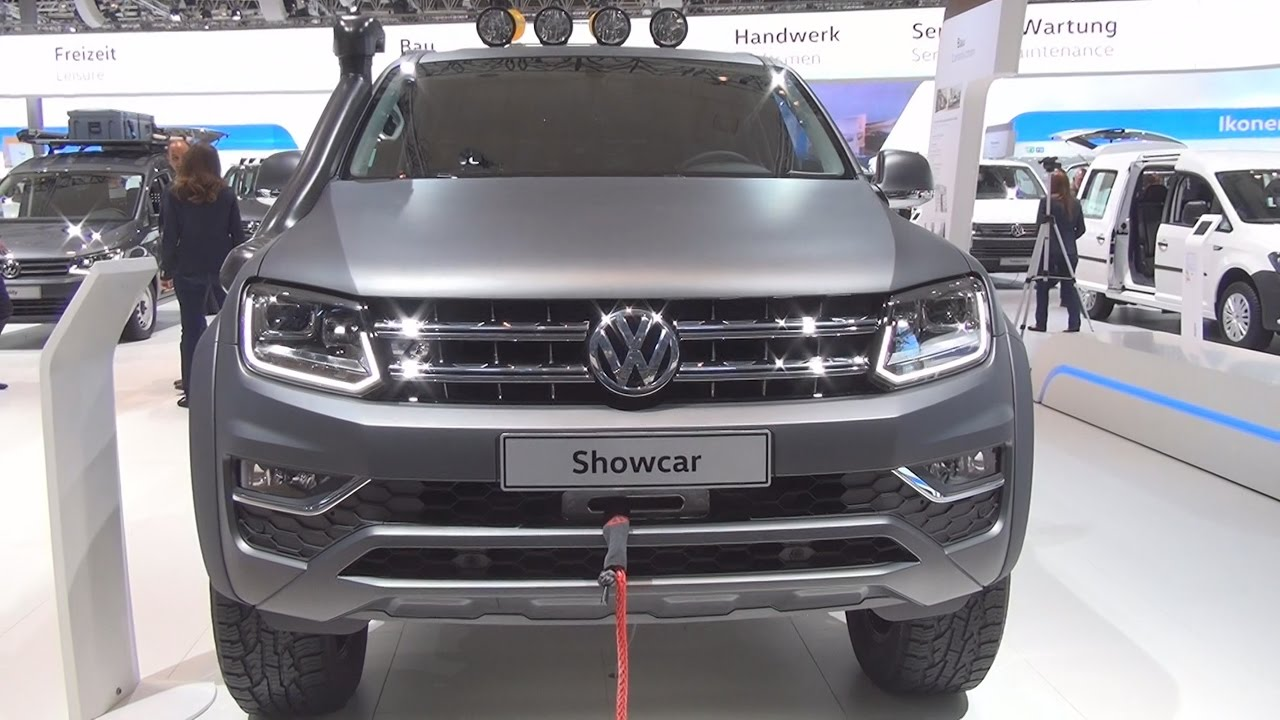 volkswagen amarok double cab aventura 3 0 tdi 165 kw v6 2017 exterior and interior in 3d youtube. Black Bedroom Furniture Sets. Home Design Ideas