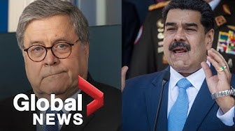 William Barr announces indictment of Nicolás Maduro on narco-terrorism charges