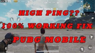 How to Reduce Ping PUBG Mobile | 100% Working