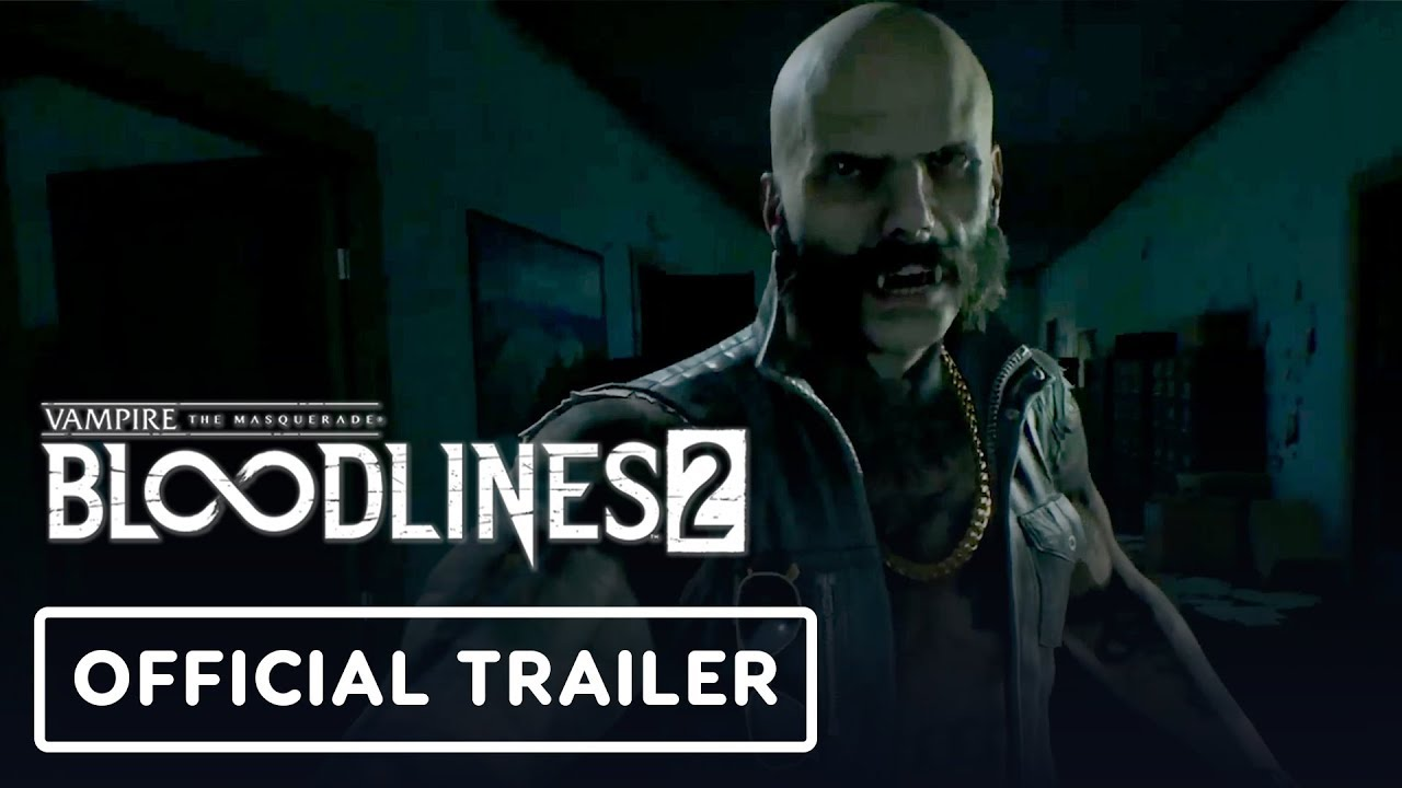 Vampire: The Masquerade - Bloodlines 2 Official Gameplay Trailer - E3 2019 - YouTube