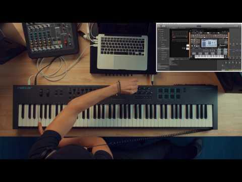 Dilla-Style MIDI Controller Jam with Nektar Impact LX88+