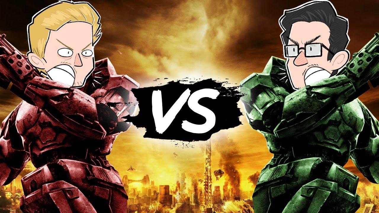 Raketenwerfer ins Gesicht! - Hooked Versus #1 - Halo 2