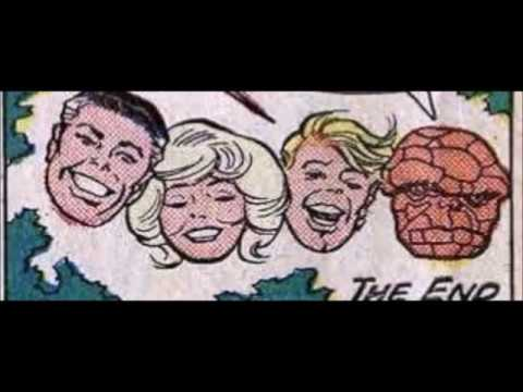 Fantastic Four 1967 Cartoon Audio With Art From The Original Comic Book By Jack Kirby
