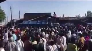 Amhara protest in Durbete,Gojjam, Ethiopia protest
