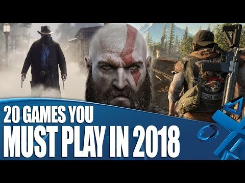 20 PS4 Games You Must Play In 2018