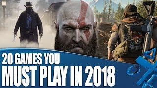 Video 20 PS4 Games You Must Play In 2018 download MP3, 3GP, MP4, WEBM, AVI, FLV Oktober 2018