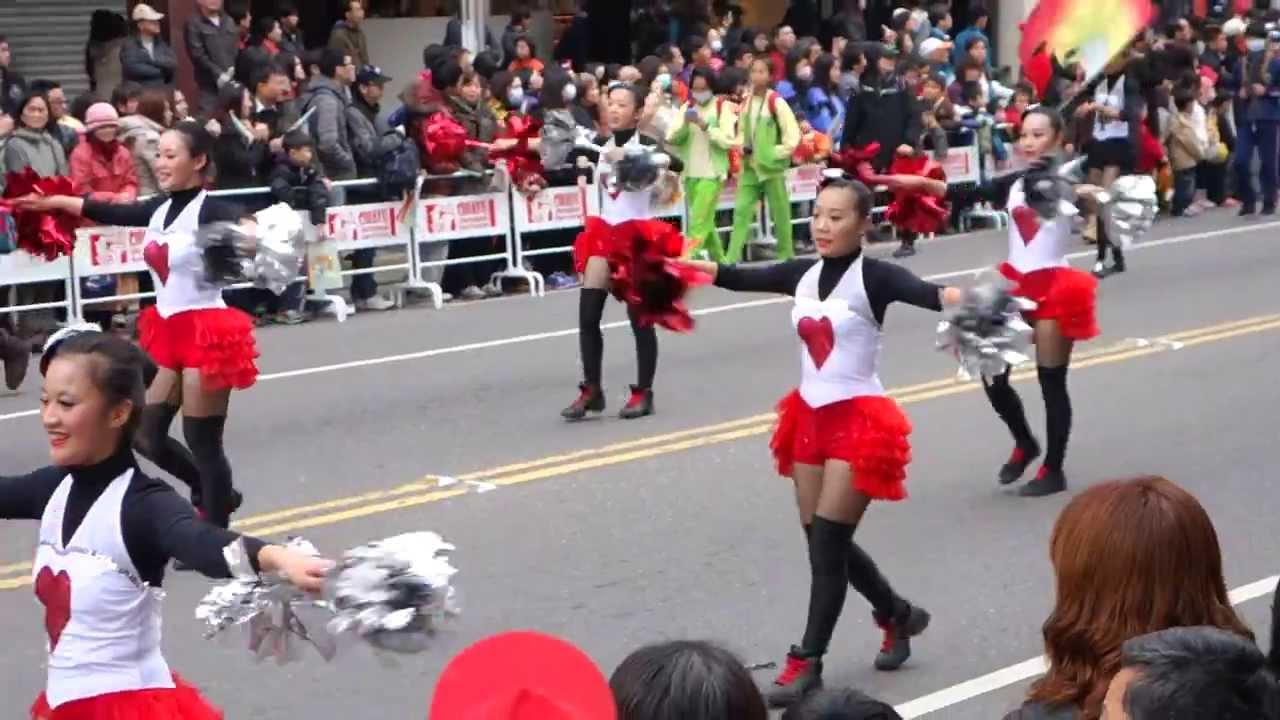 踩街-樹德家商 (2013嘉義市國際管樂節)