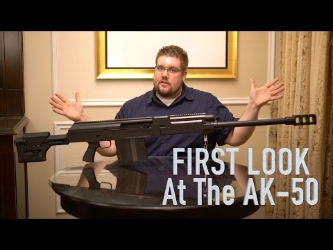 First look at the AK-50 - SHOT Show 2016
