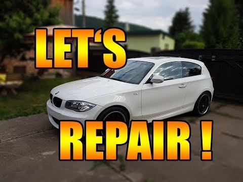 Let's Repair BMW - 123d  E81 E87 Bremse hinten selber wechseln [BMW E81 E87 123d 130]  DIY