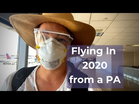 Flying in 2020 from a Physician Assistant | What To Expect When Flying