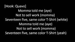 t shirt lyrics migos