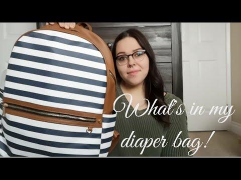 What's In My Diaper Bag! 2019