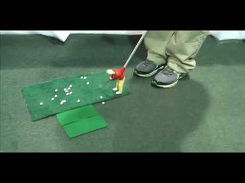 Arnold Palmer Indoor Golf Game at the Chicago Golf Show