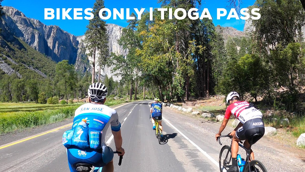 Riding Yosemite the weekend it reopened (142mi/224km + Bikes Only on Tioga)