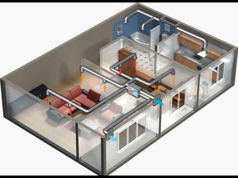 Основы проектирования вентиляции частного дома