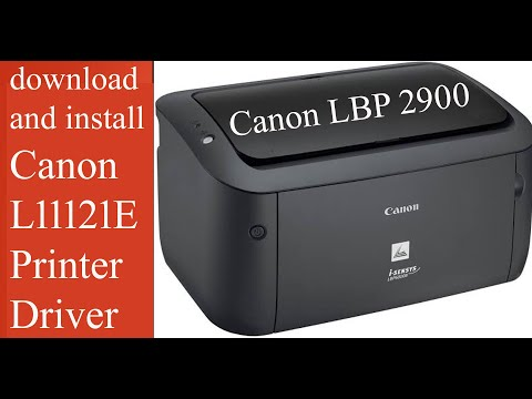 How To Download And Install  Canon  L11121E  Printer Driver