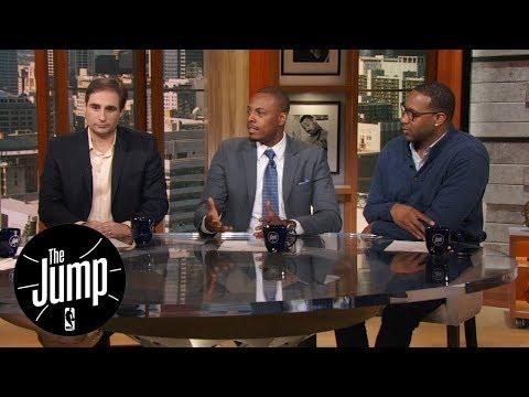 Tracy McGrady, Paul Pierce and Zach Lowe make early NBA MVP predictions | The Jump | ESPN