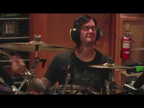 Jimmy The Rev Drumming in Studio