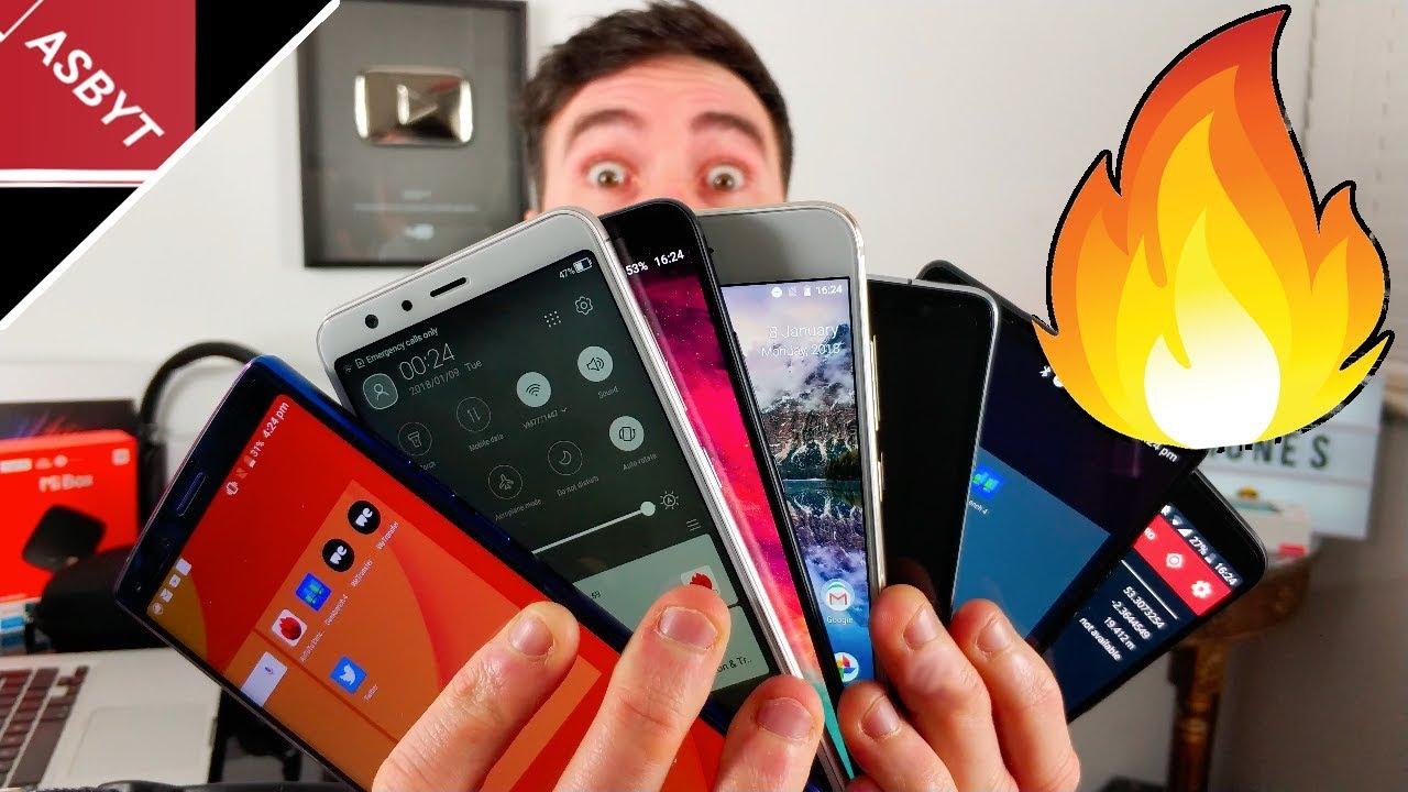 Top 7 Best BUDGET Smartphones 2018!