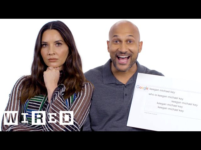 Keegan-Michael Key & Olivia Munn Answer the Web's Most Searched Questions | WIRED
