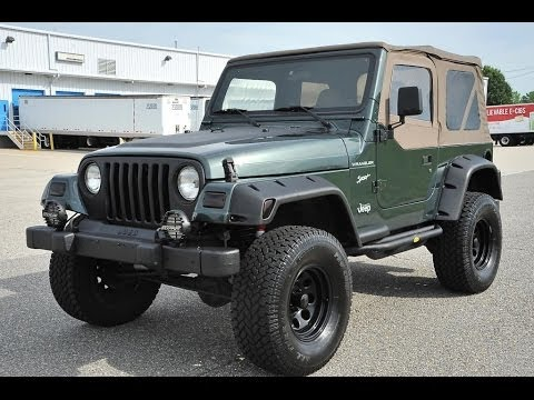2002 lifted jeep wrangler for sale by davis autosports youtube. Black Bedroom Furniture Sets. Home Design Ideas