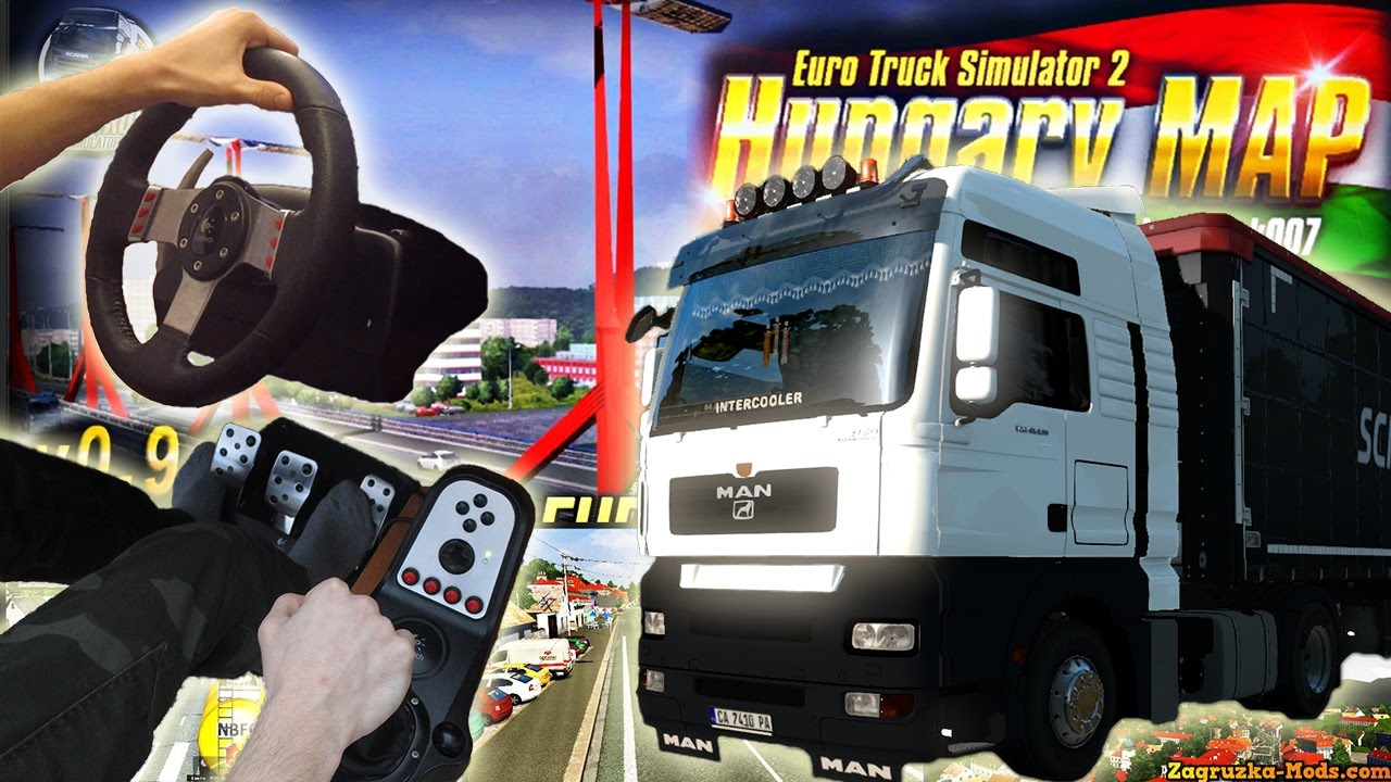 MAN TGA   Hungary Map   Wheel feet camera   ETS2 with Logitech     MAN TGA   Hungary Map   Wheel feet camera   ETS2 with Logitech G27  17