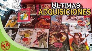 ultimas adquisiciones de manga