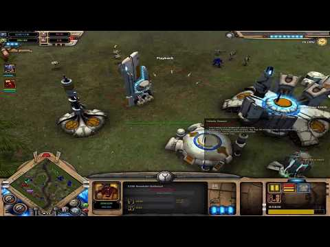Dawn of War Soulstorm - 3vs3 Online Tau Empire |