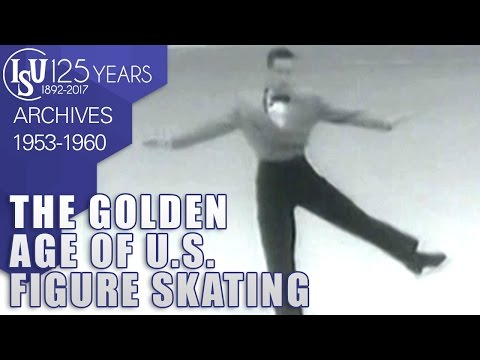 The golden age of U.S. Figure Skaters 1953-1960 - ISU Archives