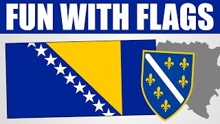 Fun With Flags - Bosnia and Herzegovina