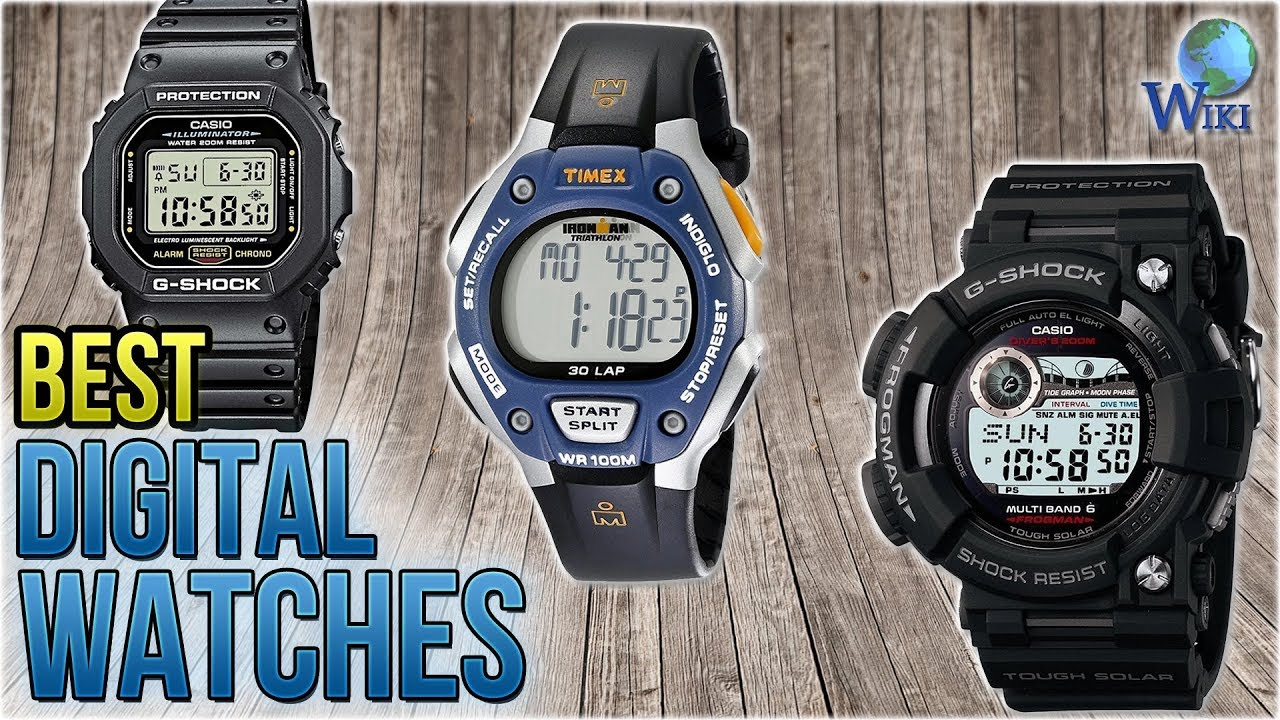 7ad99d1c2562 10 Best Digital Watches 2018 - YouTube