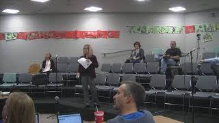 Mount Horeb Area School District Board of Education Meeting held on 11/5/2018.