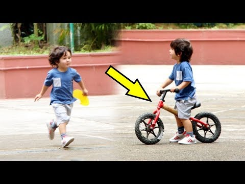 Taimur Ali Khan CUTE CYCLING Video And Yoga Pictures Go Viral! Mp3