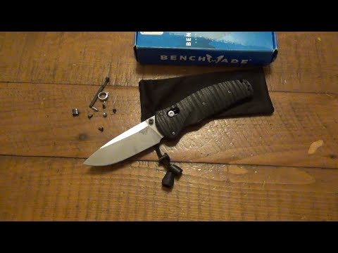 Broken Knife Missing Parts Goes Back To Benchmade For Repair (Before Video)