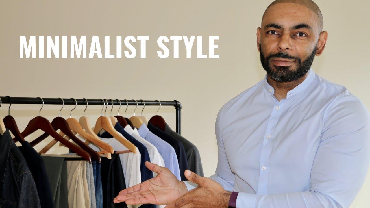 How To Build A Minimalist Men's Wardrobe