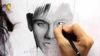 Drawing Neymar Jr  Football Time