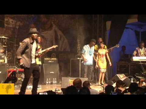 Alikiba LIVE at the Sauti Za Busara in Zanzibar