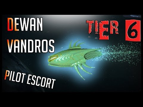 Dewan Vandros Pilot Escort [T6] – with all ship visuals – Star Trek Online