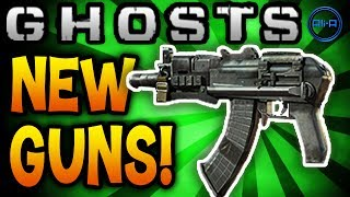 new gun dlc call of duty ghosts multiplayer map packs cod ghost gameplay online hd
