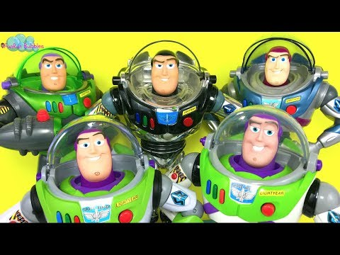 Buzz Lightyear Collection, which one is your favorite? Toy Story